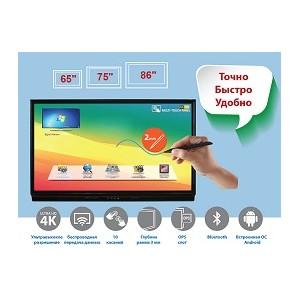 Ultra HD 4K интерактивные панели EliteBoard выходят на российский рынок