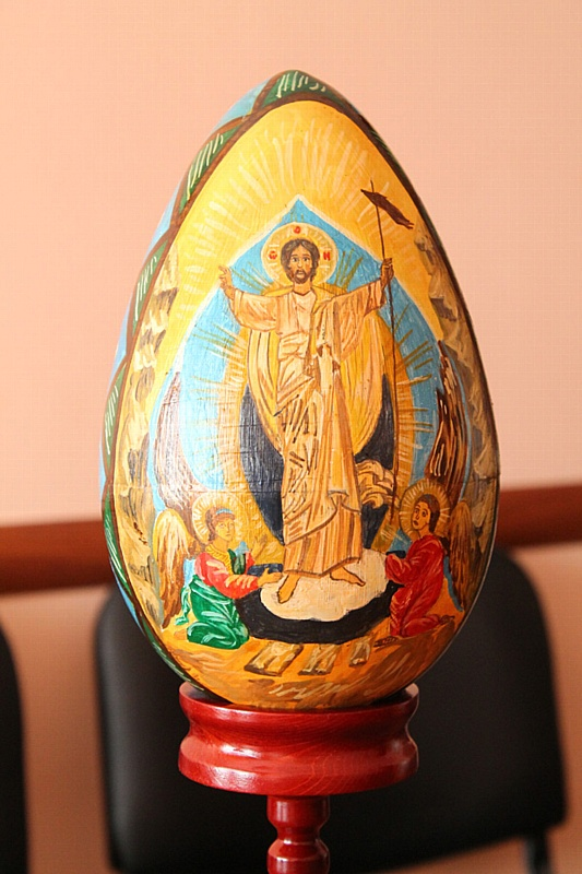 Осужденные кузбасских колоний своими руками создают оригинальные, красивые пасхальные сувениры