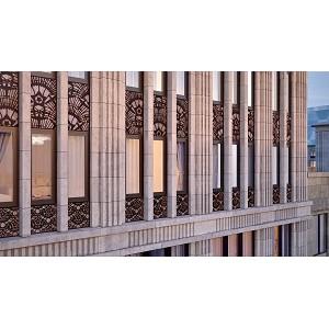 «Галс-Девелопмент» приступила к фасадным работам в городском квартале «Искра-Парк»
