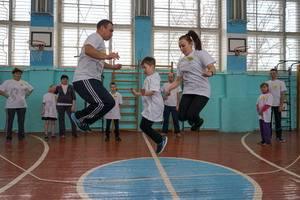 Соревнования по скиппингу организовал «Ростелеком» в Руэмской средней школе Республики Марий Эл