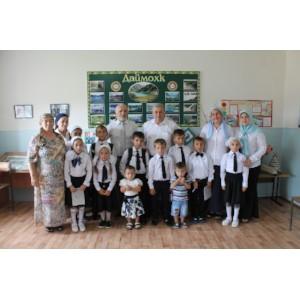 Активисты Народного фронта провели «Урок России» в школе поселка Набережный Грозненского района