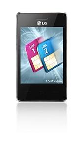 LG T375: 2 SIM-����� � ������ Wi-Fi