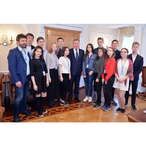 Встреча с выпускниками «Золотого сечения»