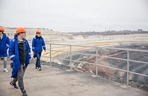 Стойленский ГОК проводит экскурсии по комбинату