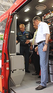 Спасатели спешат на помощь – опытный образец газодымозащитной Daily одобрен МЧС