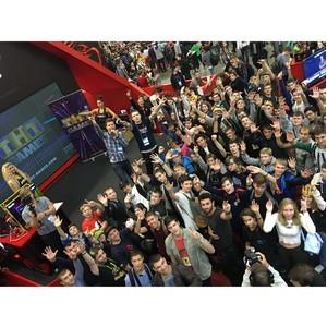 Телеканал ТНТ представил на ИгроМире свой новый бренд ТНТ-Games