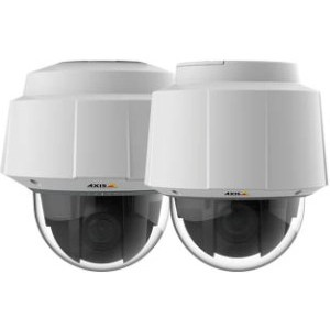 Новинки AXIS – внутренние/наружные PTZ-камеры Q6055 для видеоконтроля больших площадей