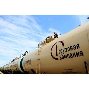 Ростовский филиал ПГК увеличил объемы перевозок вагонами-цистернами