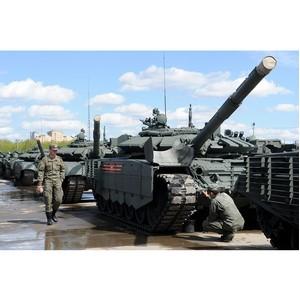 Уралвагонзавод подготовил военную технику для Парада Победы в Москве