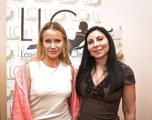 Ольга Сидорова поздравила клинику Laser Lounge с годовщиной работы