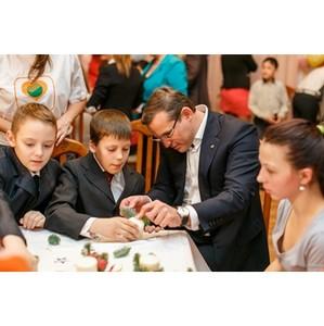 Более 600 мероприятий провел в 2013 г. в подшефных детских домах Северо-Западный Сбербанк России