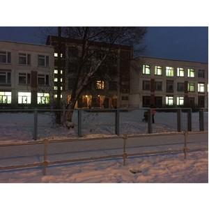 Активисты ОНФ проверили уровень освещения около школ города Иваново