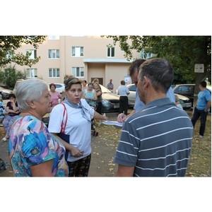 Активисты ОНФ в Башкортостане провели встречу с жителями Уфы