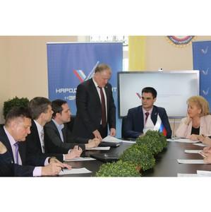 Региональный штаб ОНФ в Петербурге избрал новых руководителей рабочих групп