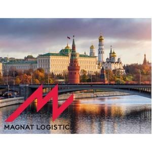 Старт логистических операций Magnat Logistics в Москве.