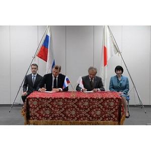 В Токио подписан Меморандум о дальнейшем сотрудничестве Toshiba и Почты России