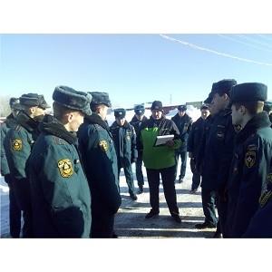 120 курсантов академии ГПС МЧС России посетили Ивановский завод «САН ИнБев»