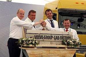 В Калуге прошла торжественная церемония закладки первого камня завода кабин Volvo Group