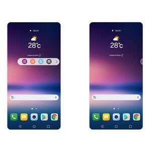 Новые возможности обновленного пользовательского интерфейса смартфона LG V30
