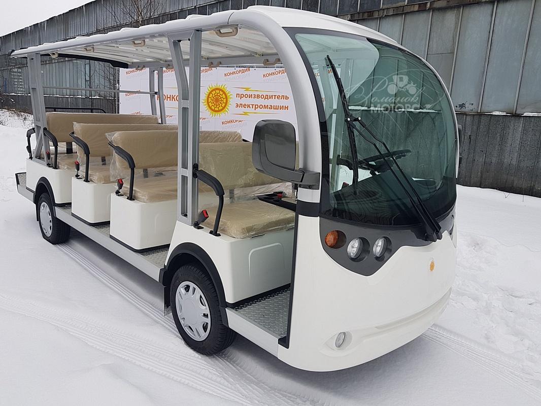 Электроавтобус российского производства