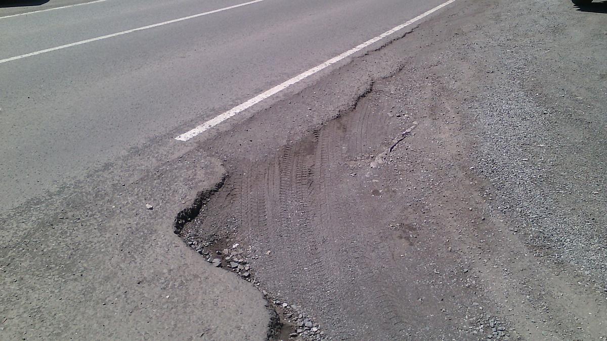 Активисты Народного фронта на Камчатке добиваются соблюдения СНиПов при строительстве дорог