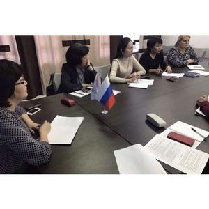 Активисты ОНФ обсудили вопросы изучения тувинского языка в школах и детсадах республики