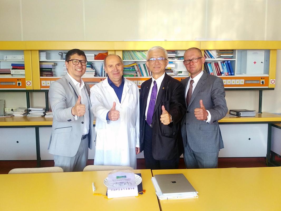 Подписано соглашение между Тайбейским медицинским университетом и кластером «Фармдолина»
