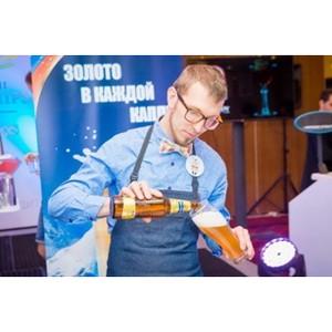 """В Москве при поддержке бренда """"Балтика"""" выбрали лучшего бармена по мастерству подачи пива"""