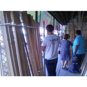 Волгоградские активисты ОНФ проверили организации, торгующие пиломатериалами