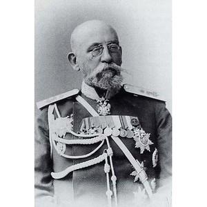 Установка памятника генерал-губернатору Н.И. Бобрикову
