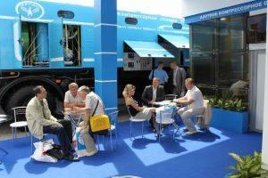 """Промышленная компания """"ТЕГАС"""" показала в Москве крупнейшую азотную станцию"""
