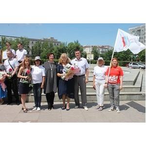ОНФ в Амурской области провел акцию «Парад семьи» по случаю Дня семьи, любви и верности