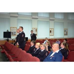 В УВД Зеленограда состоялась встреча со слушателями Университета МВД