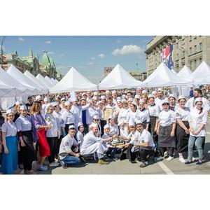 В юбилей города Новосибирска был установлен сладкий рекорд