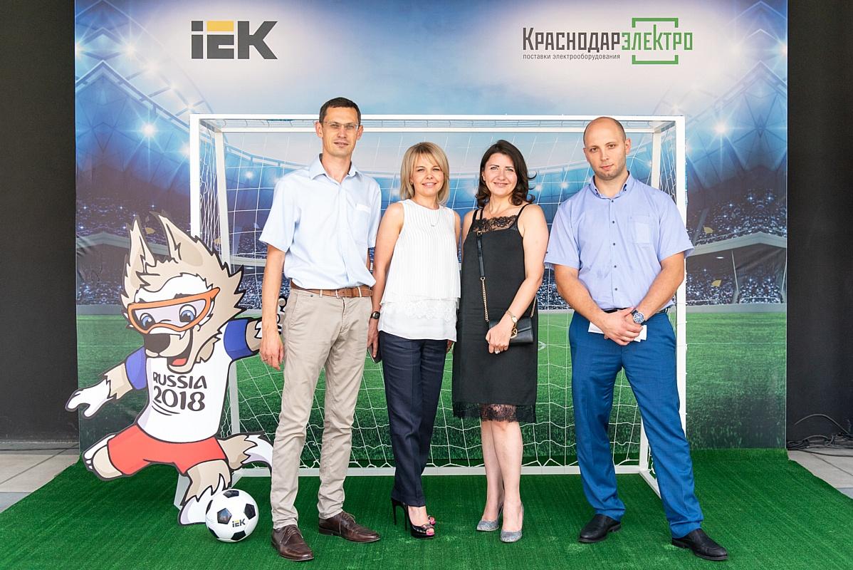 Выездной бизнес-ужин клиентов компаний «Краснодарэлектро» и ГК IEK