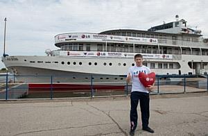 28 мая в Ульяновске  прошел День донора с участием известного спортсмена города