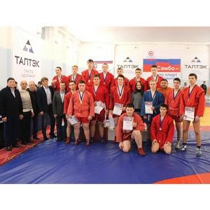 Определены победители межрегионального турнира по самбо на призы Группы компаний Талтэк