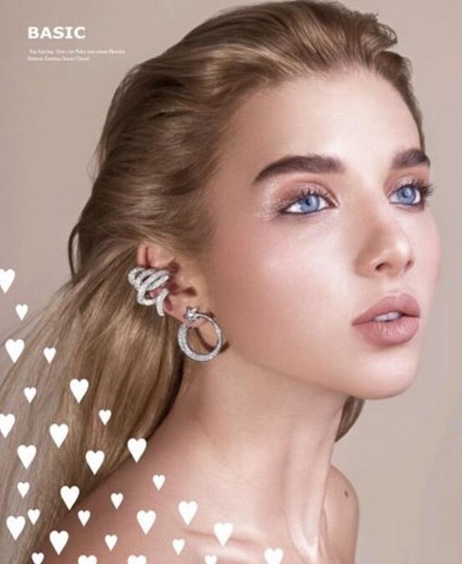 Анастасия Михайлюта для ювелирного брендаDior