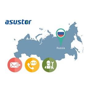 Компания Asustor подключается к сервисной сети Asus в России