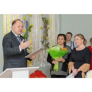 Вадим Супиков поздравил дружный коллектив детского сада «Семицветик»