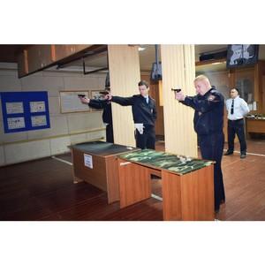 Зеленоградские полицейские соревновались в меткости