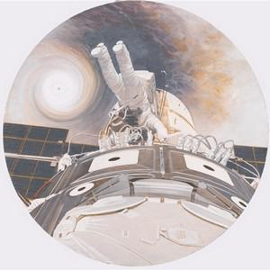 Работы художников XXI о Космосе впервые показывают Мончегорске