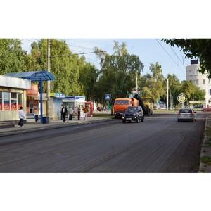 После критики ОНФ в Барнауле ремонтируются основные автомагистрали