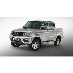 Новый УАЗ Пикап в автосалоне «Торгмаш»