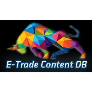 База данных товаров E-Trade Content DB для интернет-магазинов.