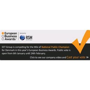 EET Europarts вышла в финал престижного конкурса European Business Awards