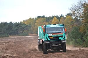 Болиды Iveco с двигателями FPT для команды де Роя на пути к Южной Америке