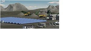 Новая разработка компании Weswen гибридная дизель-солнечная электростанция
