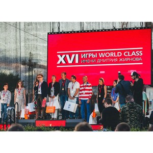 Mixberry — партнер соревнований XVI Игры World Class