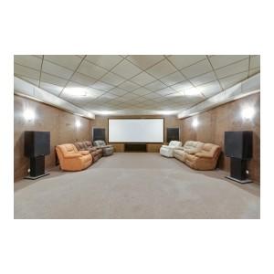 Домашний кинотеатр и еще три варианта применения звукоизоляции в быту, о которых должен знать каждый